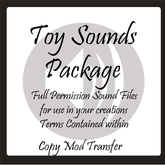 Toy Sound FX by 'Sound It Out'