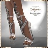 Utopia Fairyway white shoes