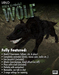 The Black Wolf: An Interactive Animated Pet