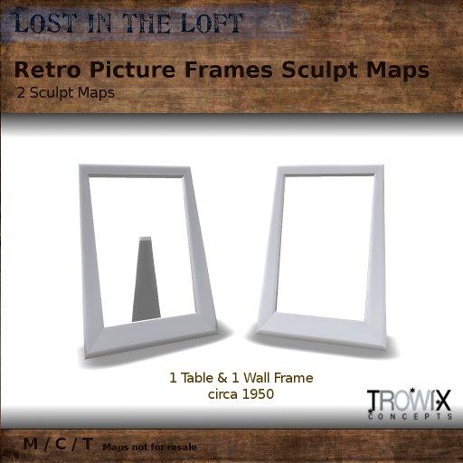 Trowix - Retro Frames Sculpt Pack
