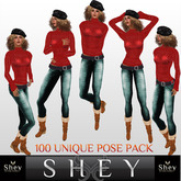 Shey Pose Female Pose Pack