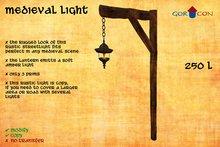 Medieval light (copy) rugged rustic lantern streetlight