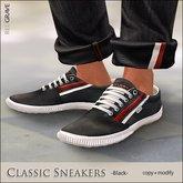 [*RG*] Classic Sneakers -Black-  *REDGRAVE*