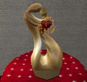 CJ Love Sculpture - take my Heart
