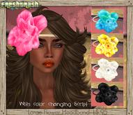 =FT - Large Flower Headband