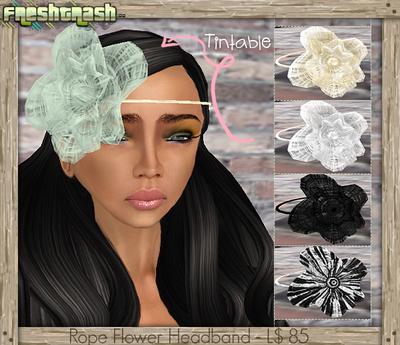 =FT - Rope Flower Headband DEMO
