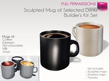 Full Perm Mug of Selected Drinks Builder's Kit Set