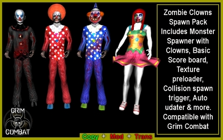 Zombie Clowns Spawner pack (BOXED)