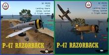 =TBM= p-47 razorback -PACK