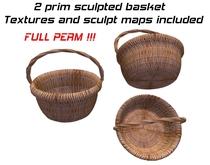 2 prim Sculpted cheers basket + textures + Sculpt Maps - FULL PERM !!!