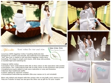 "Luxury Egyptian Cotton towel Robes ""for him and her"""