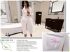 "Luxury Egyptian Cotton towel Robe ""for her"""