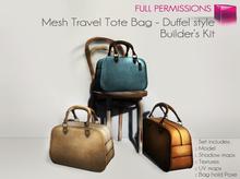 Full Perm Mesh - Travel Tote Bag - Duffel Style - Builder's Kit Set