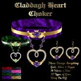 Claddagh Heart Choker
