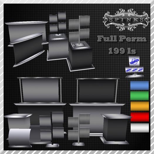 SpInKs Studio::PROMO::Vendor set,Display's