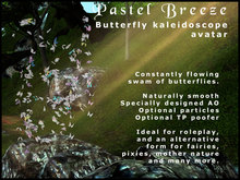 Butterfly Swarm Avatar - Pastel Breeze
