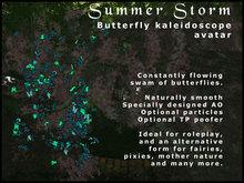 Butterfly Swarm Avatar - Summer Storm