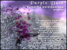 Butterfly Swarm Avatar - Purple Dusk