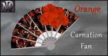 Orange Carnation Fan
