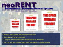 neoRENT Rental Box System - Powerful, Professional Rental Solution