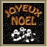 POOFER JOYEUX NOEL Bonhomme de neige
