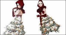 "Boudoir Christmas -""Little Christmas Miss"""