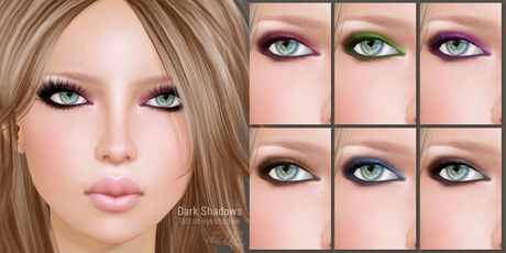 cheLLe (eyeshadow) Dark Shadows