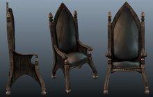 Rustica - Mesh Gothic Chair