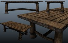 Rustica - Mesh Gothic Table