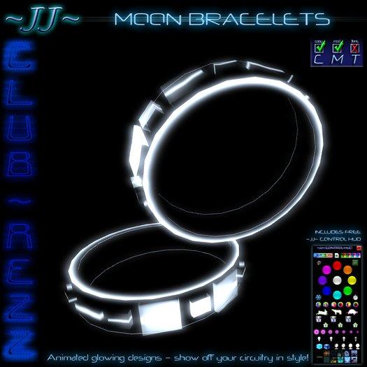 ~JJ~ Club~Rezz Bracelets - Moon