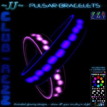~JJ~ Club~Rezz Bracelets - Pulsar