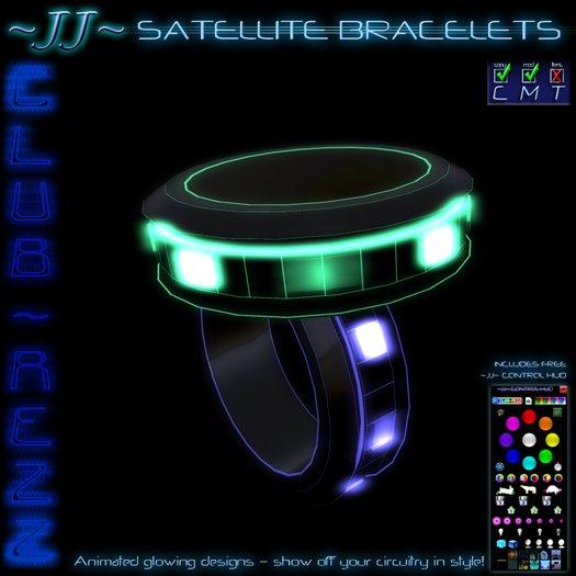 ~JJ~ Club~Rezz Bracelets - Satellite