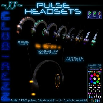 ~JJ~ Club~Rezz Pulse Headsets (update)