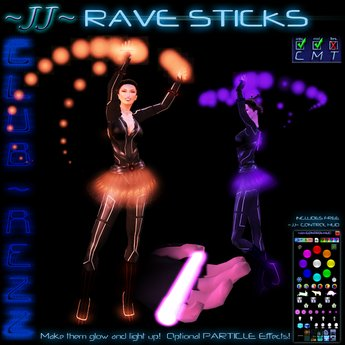 ~JJ~ Club~Rezz Rave Sticks