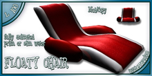 WaterWorks - FLOATY CHAIR - RED