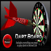 Blazen Dart Board (Playable Darts with auto scoring) Copyable Version
