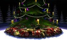 Christmas tree multi colour  by Timmi Allen