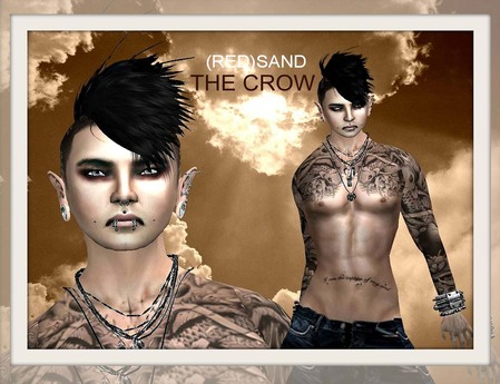 ::PROMO::(RED)SAND THE CROW 3skins&body shape