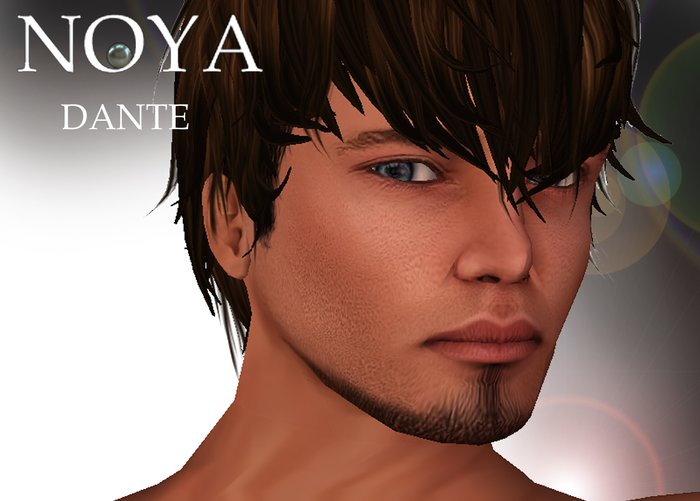 **NOYA** [Pride PROMO] DANTE Male Skin (PRIDE)- Shape - Eyes - with Beard