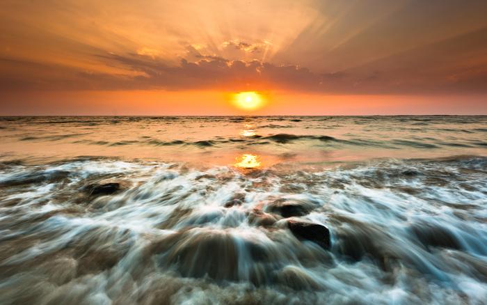 Great poster texture gorai sunset 2560x1600
