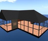 Beachhouse Flat  Bungalow Haus - Boxed - Primsaver only 13 prims