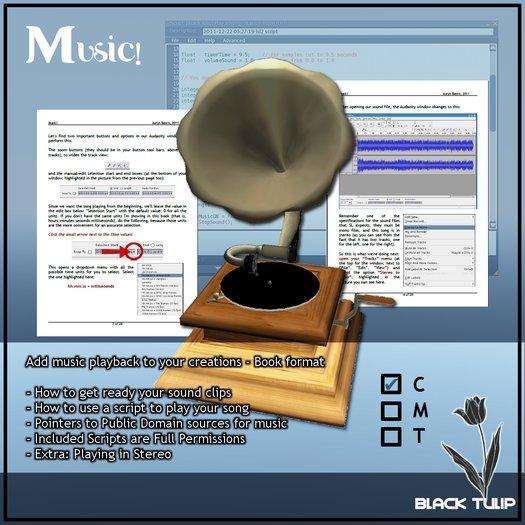 [Black Tulip] Class In A Box - Music! (Book Format)