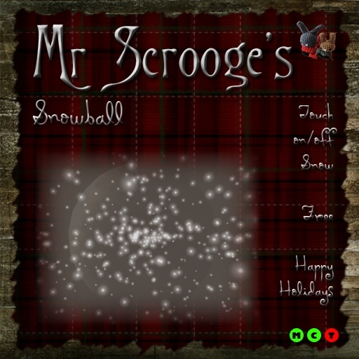 Mr Scrooge's Snowball Particles