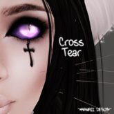 ~*KAWAII DESU!*~ Cross Tear Tattoo