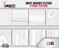 Andatti - White Wooden PACK