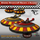 Xtreme Racers Rezzer & Crafts V.1.5 - Red & Yellow Hovercrafts