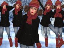 "☆★PROMO★☆-{   VIRTUE MOCHA   }- ""Keeping Warm""- 02 Red"