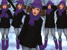 "☆★PROMO★☆-{   VIRTUE MOCHA   }- ""Keeping Warm""- 06 Purple"