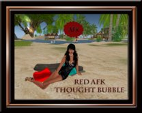 AFK Thought Bubble - Red