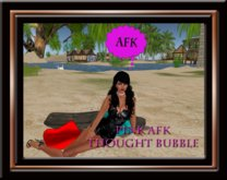 AFK Thought Bubble - Pink